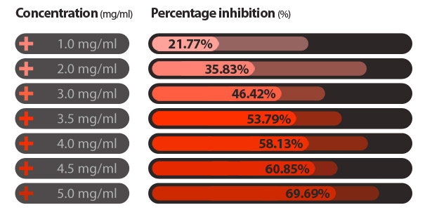 The Percent Of Rho-Kinase 11 Activity Inhibited